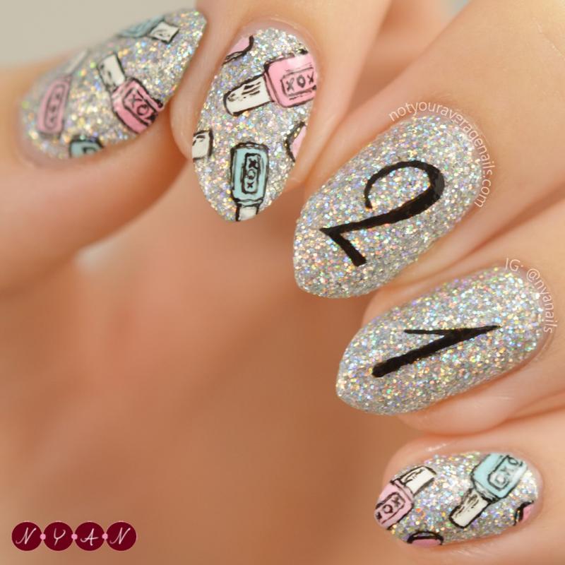 21 nail art by Becca (nyanails)