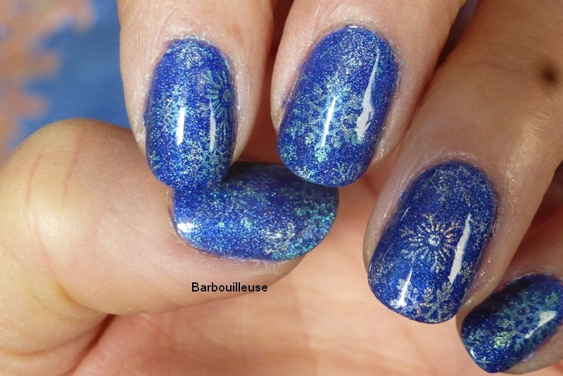 Advent Calendar 2016 nail art by Barbouilleuse