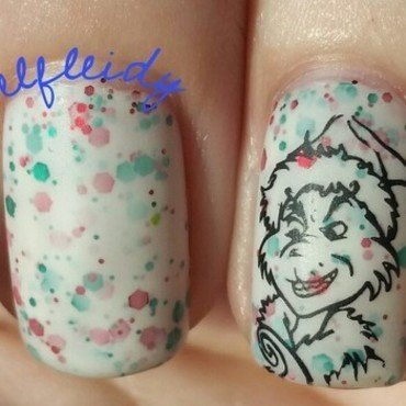 #nailcraziesunite 12-02-2016 nail art by Jenette Maitland-Tomblin