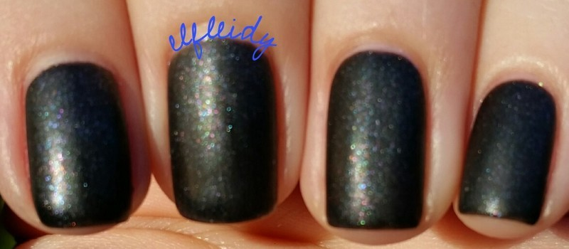 KBShimmer Soot and Ladders and KBShimmer Oh Matte! Swatch by Jenette Maitland-Tomblin
