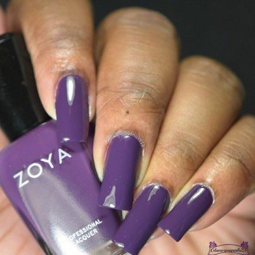 Zoya Monica Swatch by glamorousnails23