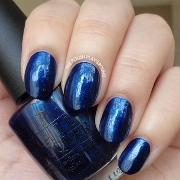 OPI Yoga-ta Get this Blue! Swatch by Lisa N