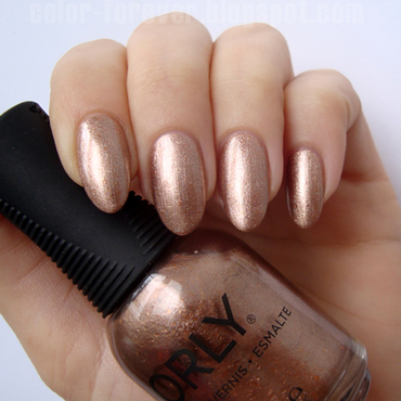 Orly Million Dollar Views Swatch by ania