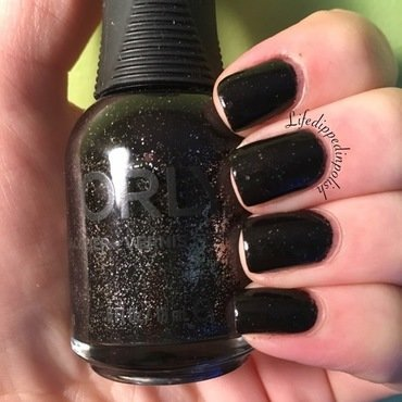 Orly Goth Swatch by lifedippedinpolish