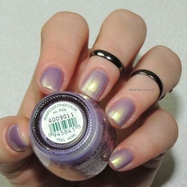 O.P.I. Significant other Color NL B28 Swatch by Ka'Nails