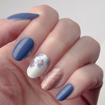 Squares in Cirque nail art by What's on my nails today?