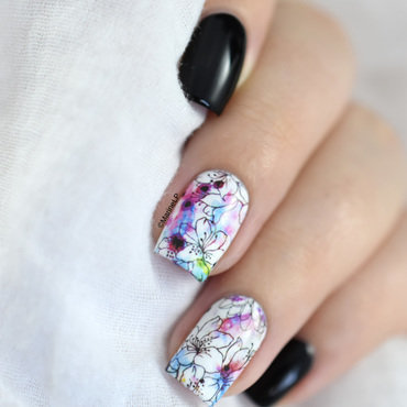 Floral water decals nail art 20 3  thumb370f