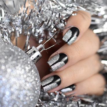 Classy festive nail art stiletto vinyls 20 5  thumb370f