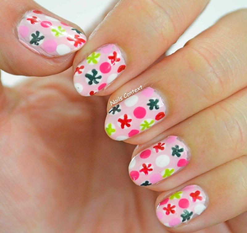 Candy Nails  nail art by NailsContext
