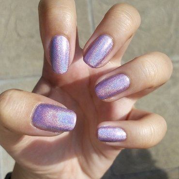 Cloud nine nail art by Lucy