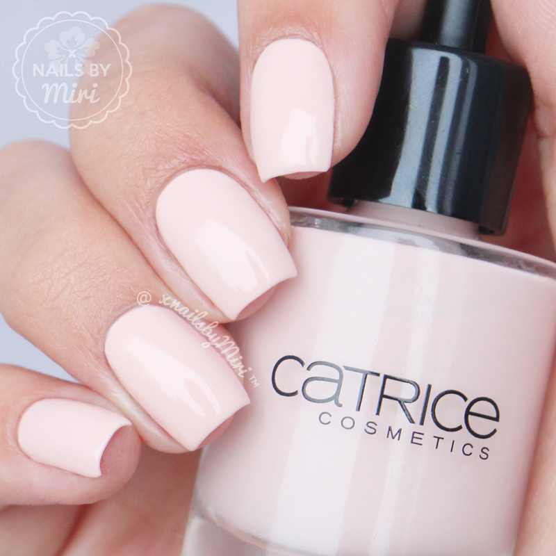 Catrice Sheer Silence Swatch by xNailsByMiri