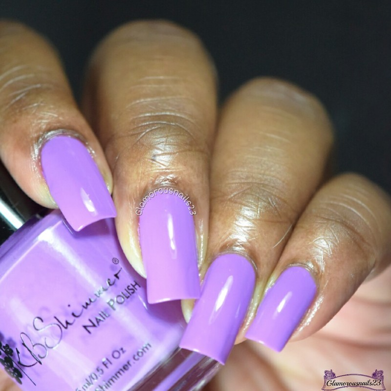 KBShimmer Sarong Place sarong time Swatch by glamorousnails23