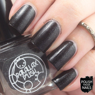 Parallax polish power black glitter swatch 3 thumb370f