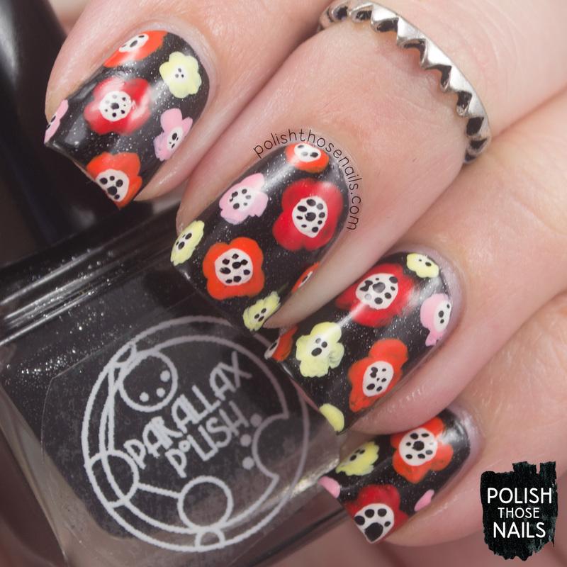 Flower Power nail art by Marisa  Cavanaugh