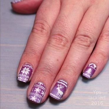 Up to the North! nail art by die Yps lackiert