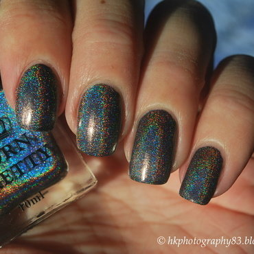 Born Pretty H001 Shine in The Dark Swatch by Hana K.