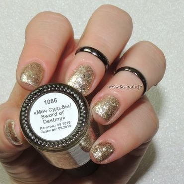 Masura Sword of Destiny - 1086 Swatch by Ka'Nails