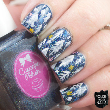 Sparkle Had Nothing To Do With It nail art by Marisa  Cavanaugh