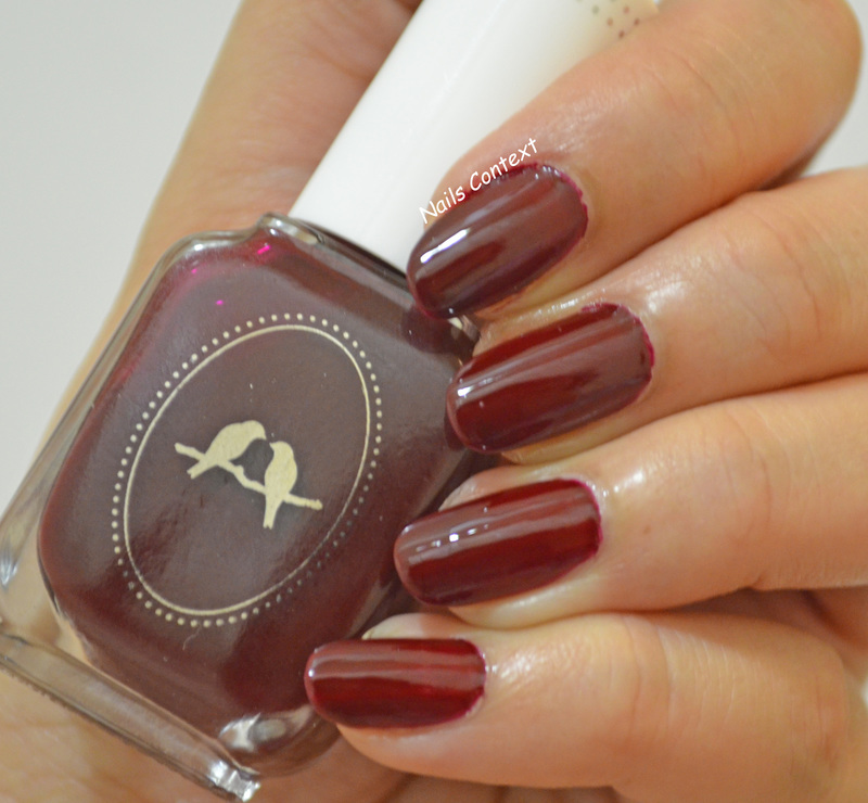Chloe and Isabel Moulin Rouge Swatch by NailsContext