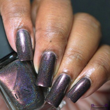 ILNP Chocolate Slate Swatch by glamorousnails23