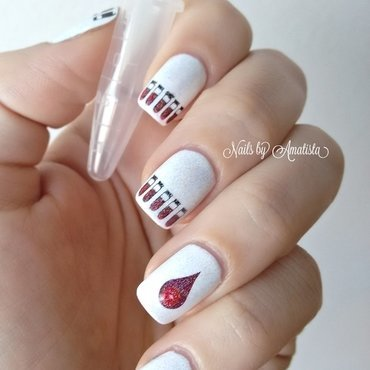 Eppendorf nail art by Daniela