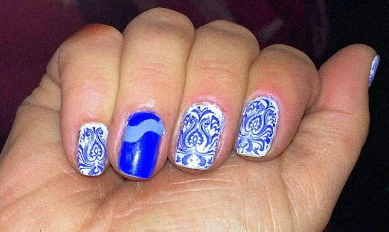 NAIL ART nail art by FRANCESCA SPORTELLA