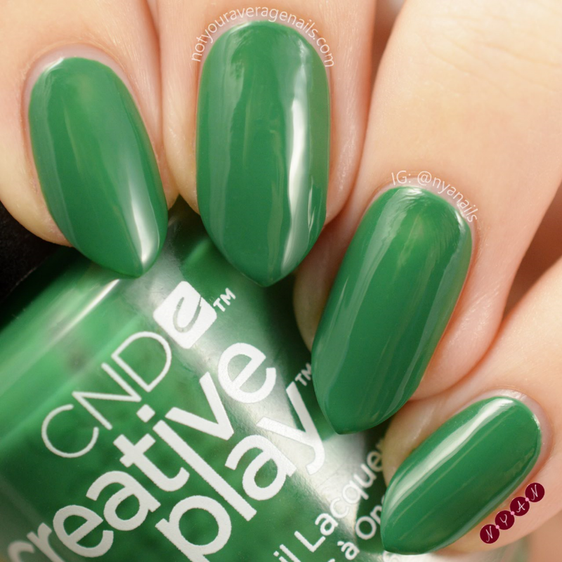 CND Happy Holly Day Swatch by Becca (nyanails)