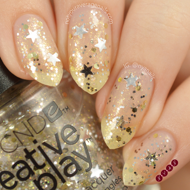 CND Stellarbration Swatch by Becca (nyanails)