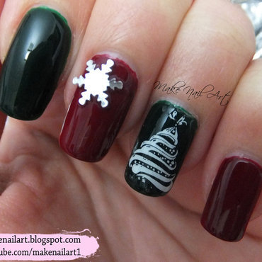 Red 20and 20green 20christmas 20nails 20stamping 20nail 20art 20design 20tutorial thumb370f
