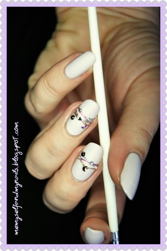 Bracelets nail art by ELIZA OK-W