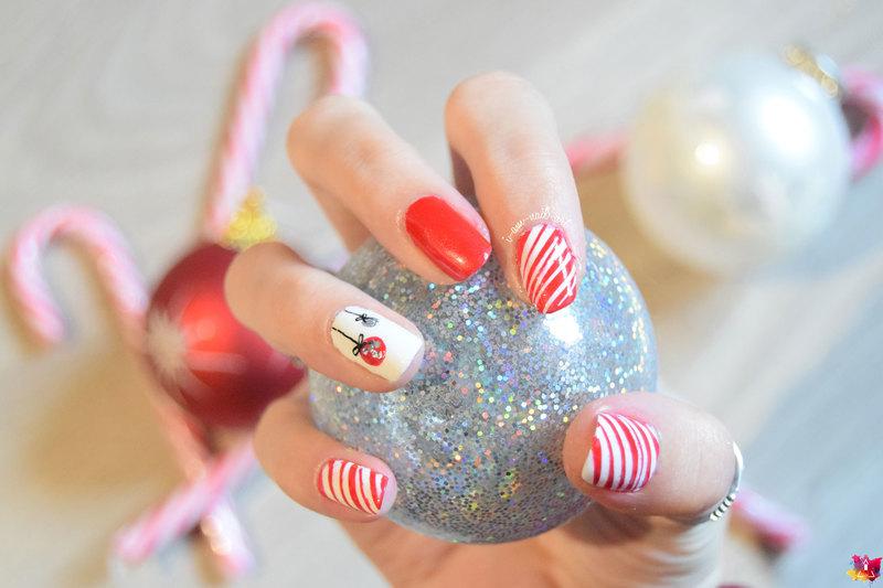 Christmas nail art by i-am-nail-art
