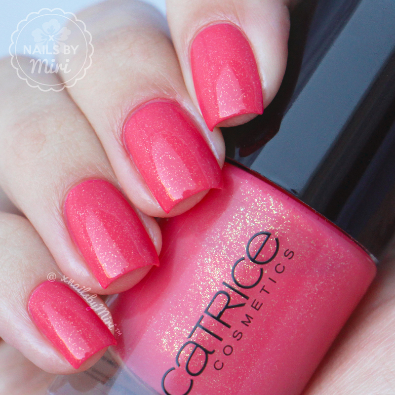 Catrice She Said Yes In Her Red Dress Swatch by xNailsByMiri