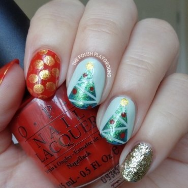 Festive 20holiday 20mix 20and 20match 20nail 20art thumb370f