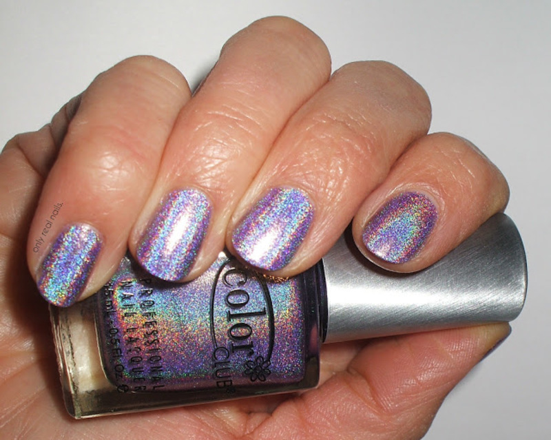 Color Club Eternal Beauty Swatch by only real nails.