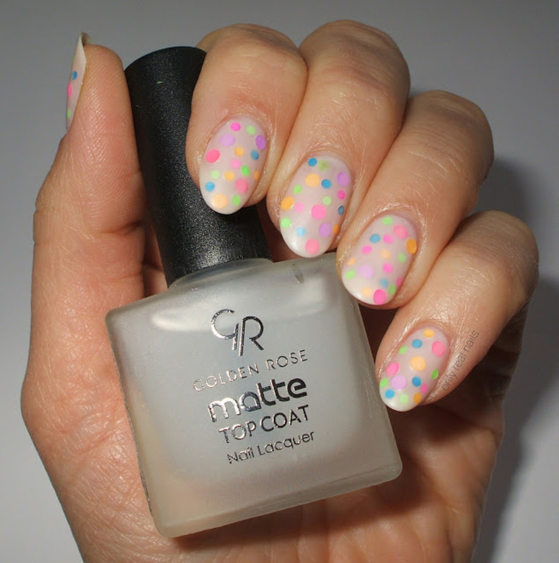 Neon pond mani nail art by only real nails.