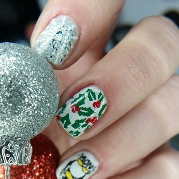 Merry Christmas🎅 nail art by redteufelchen86
