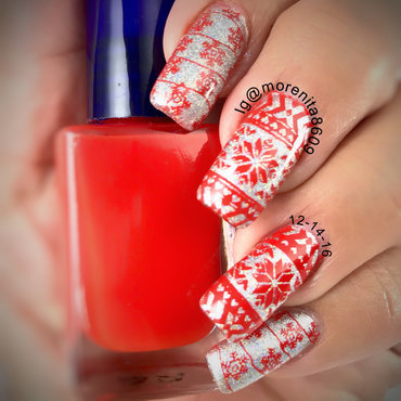 UGLY Sweater Nails nail art by Morenita  Morena