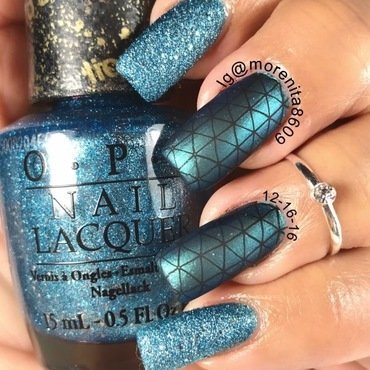 Lovely Blue Design  nail art by Morenita  Morena