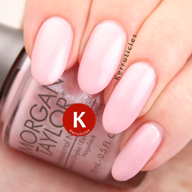 Morgan Taylor N-ice Girls Rule Swatch by Claire Kerr