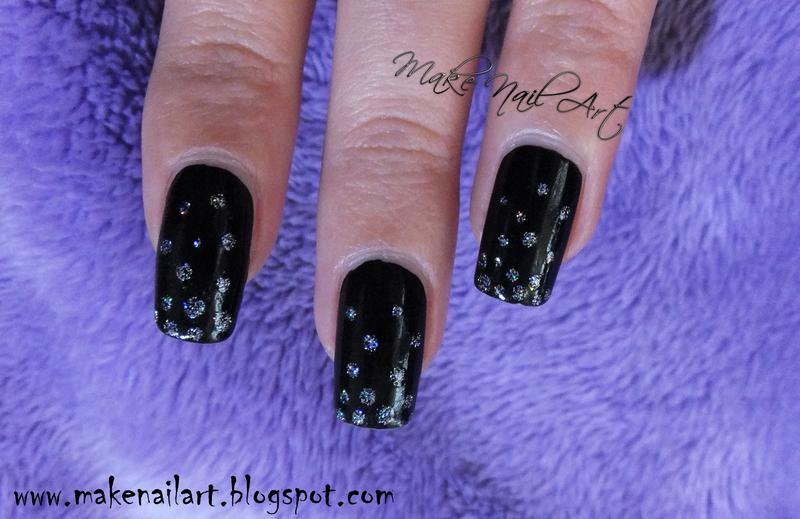 New Year's Eve Nail Art Design nail art by Make Nail Art