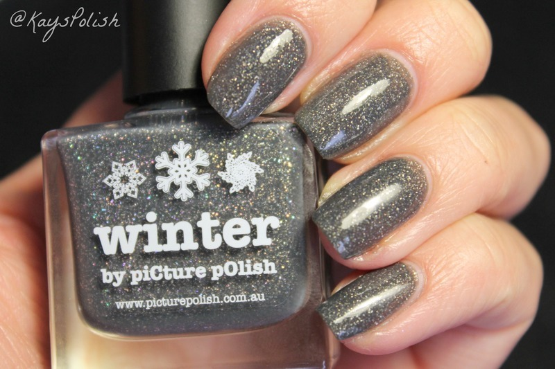 piCture pOlish Winter Swatch by Kay's Polish