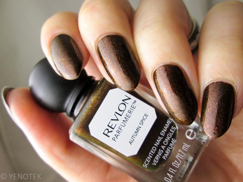 Revlon Parfumerie Autumn Spice Swatch by Yenotek