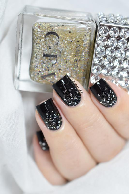 Glitter Gradient nail art by Marine Loves Polish Nailpolis