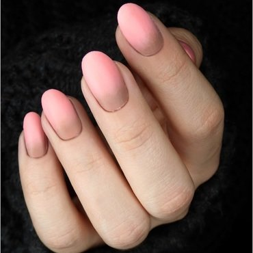 Pink & Brown Nails nail art by barbrafeszyn