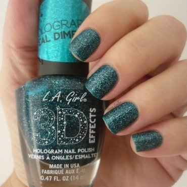 L.A.Girl Teal Dimension Swatch by Ilana Coelho