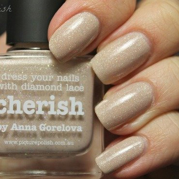 piCture pOlish Cherish Swatch by Kay's Polish