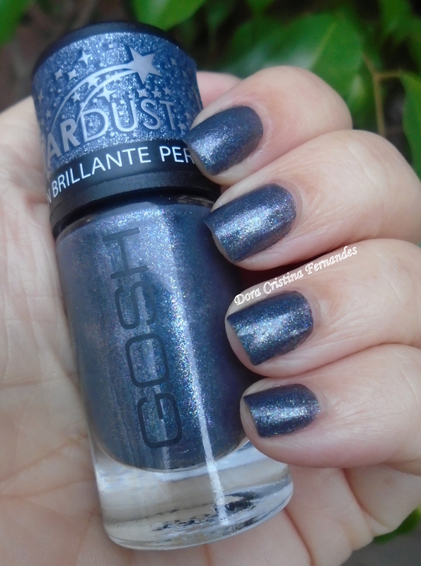 GOSH Million Stars ( StarDust Collection ) Swatch by Dora Cristina Fernandes