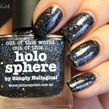 piCture pOlish Holo Sphere Swatch by Kay's Polish