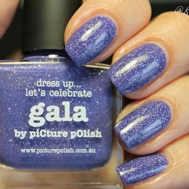 piCture pOlish Gala Swatch by Kay's Polish