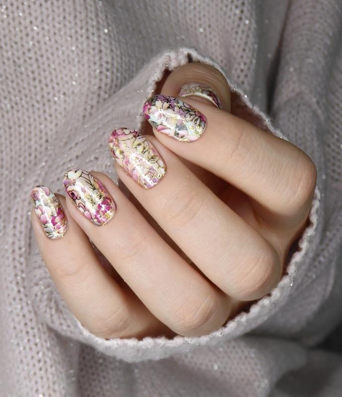 Baroque nails nail art by barbrafeszyn